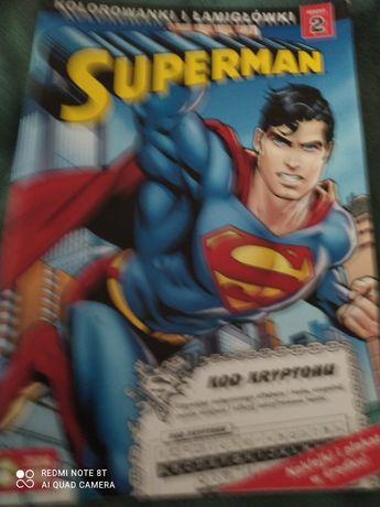 Książeczka supermen z Naklejkami!