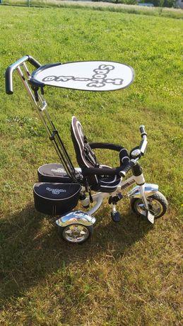 Rowerek pchacz trójkołowy