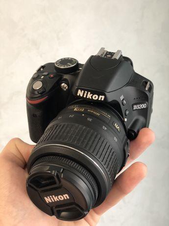 Nikon d3200 kit + вспишка