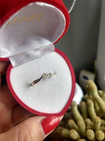 Złoty pierścionek APART ,roz 13, waga 2,62 g