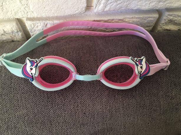 H&M okularki okulary do plywania jednorożce