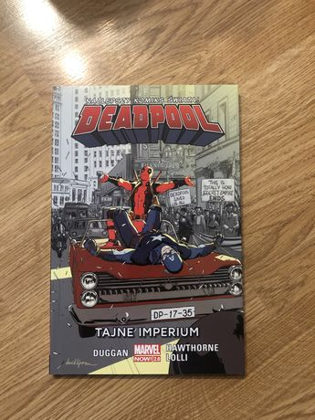 Komiks Marvel Deadpool tom 10 tajne imperium - Marvel Now 2.0