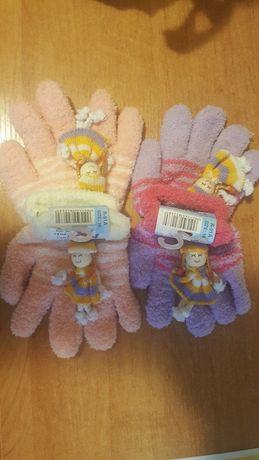 Rękawiczki dla dziewczynki rozm 16