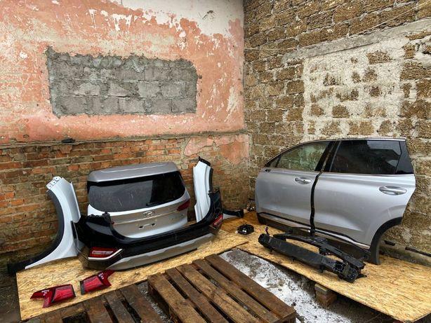 Бампер Дверь Капот Фара Hyundai Santa Fe 2019 2020 2021 РАЗБОРКА