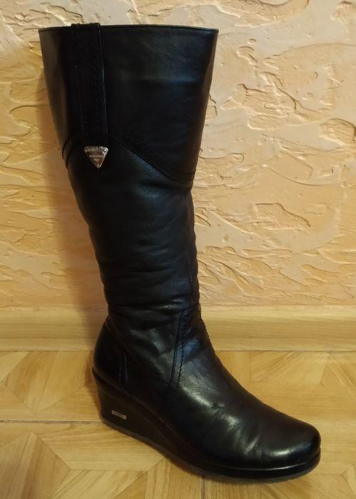 Продам жіночі  зимові шкіряні чоботи! Тернополь - изображение 1