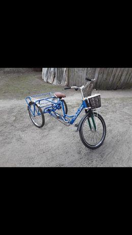 продам 3-х коленый велосипед