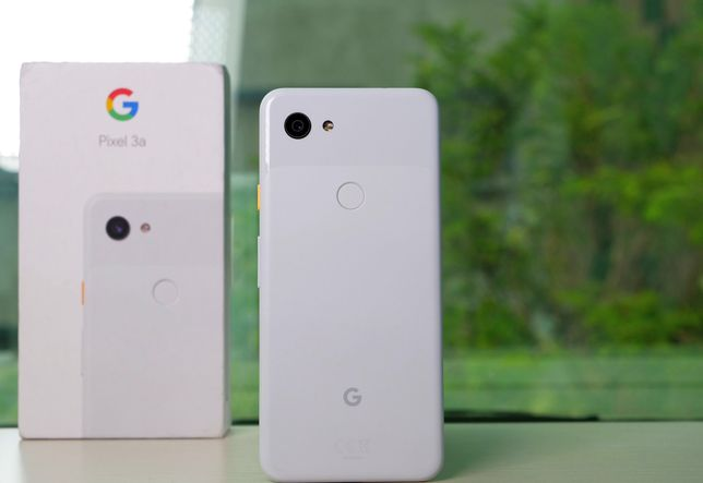 Google pixel 3a 4/64 Gb (1 sim+ E sim) Snapdragon 670 New Пломба Чехол