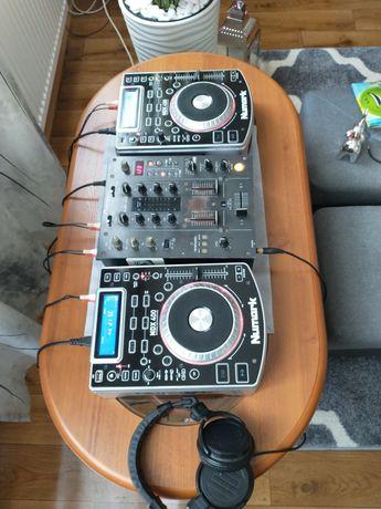 Konsola 2x Numark, Pioneer DJM 400