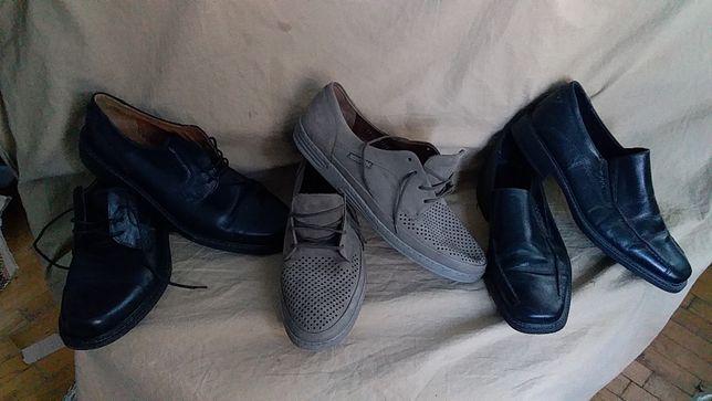 Туфли мужские,кожа натуральная, - MERNISTO.-12/31; ecco-43/29;45/30