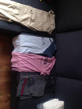 Ubrania męskie rozmiar -M paczka