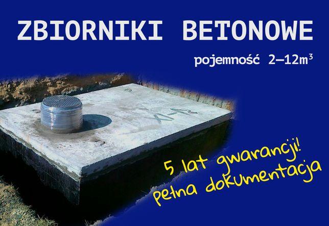 Zbiornik betonowy Szambo betonowe Deszczówka Woda Piwiniczka GWARANCJA
