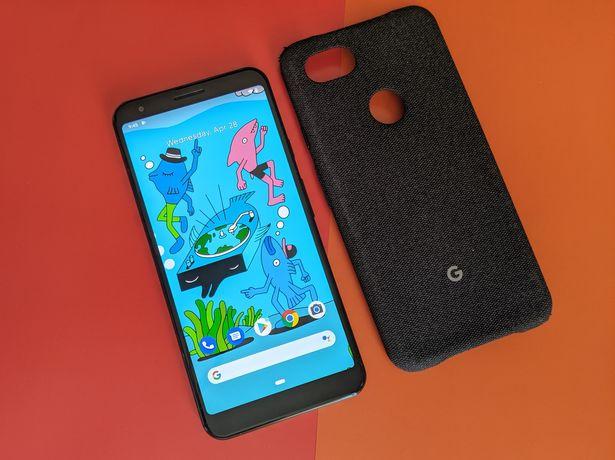 Google Pixel 3a XL 64gb Black neverlock +чехол