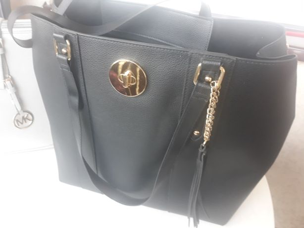 Czarna duża torebka PRIMARK