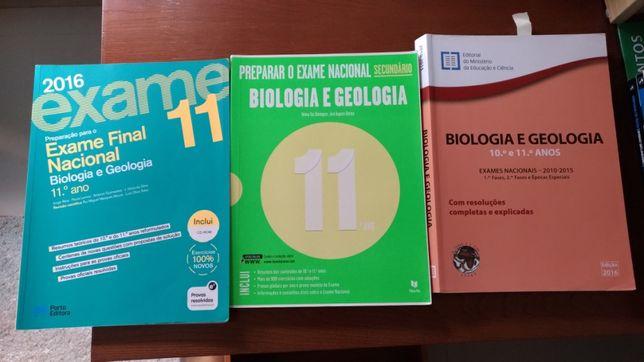 Livros preparação exame Biologia