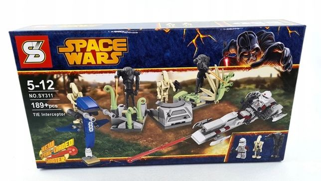 Star wars klocki 189 klocków Space Wars 3 figurki