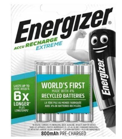 Akumulator  (NiMH) Energizer AAA 800 mAh 4 szt