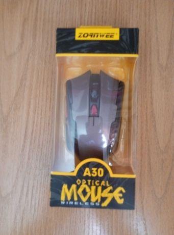 Беспроводная мышь ZORNWEE A30 серая