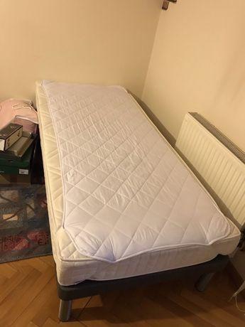 Łóżko z materacem 90x200 jak nowe
