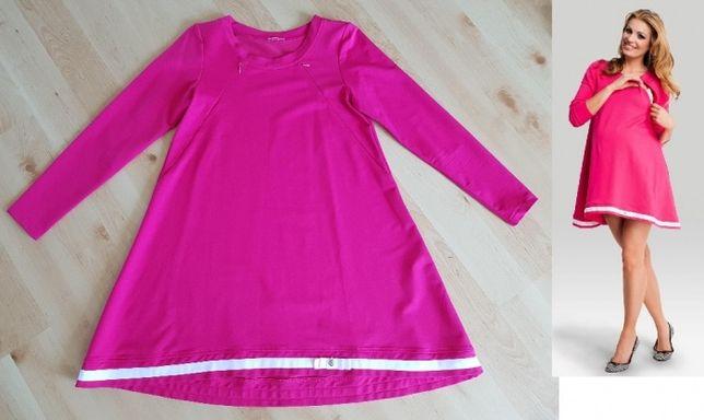 2w1 sukienka tunika ciążowa do karmienia Happymum Happy mum M 38 Nowa