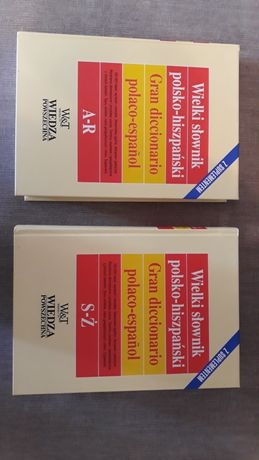Wielki Słownik Polsko-Hiszpański z Suplementem