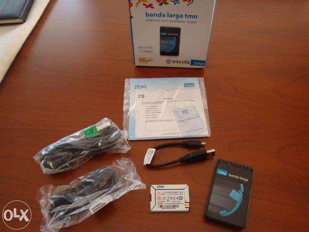 banda larga tmn zte mf620 (c/ oferta)