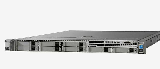 384GB DDR4 2×E5-2699V3 Сервер CISCO C220 M4 36 Ядер/72 Поток 12G RAID