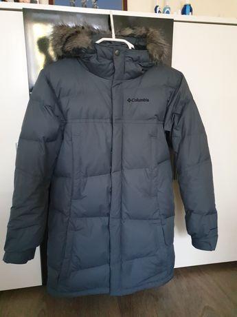 Пуховое пальто Columbia,  10-12 лет