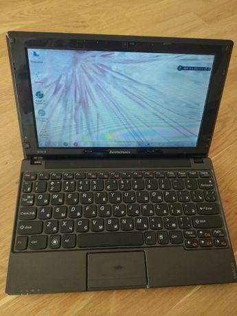 Нетбук Lenovo S10-3/ недорого / всё работает/ 2 ядра/ 2 Гб