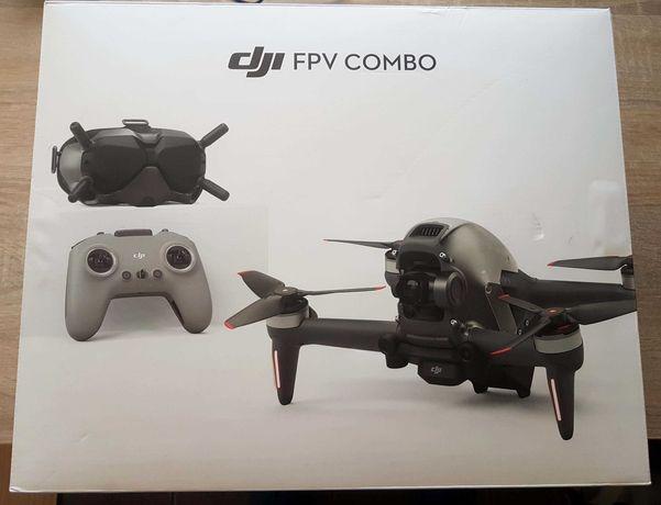 Dron DJI FPV zakup w marcu 2021+Care Refresh cały zestaw z googlami