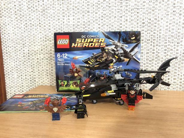 Lego DC comics Super Heroes 76011 Batman, Man-Bat attack, лего бэтмен