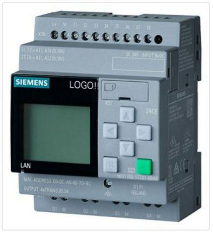 Розумний дім будинок Стабілізатор АВР Відео нагляд ПЛК Siemens Logo