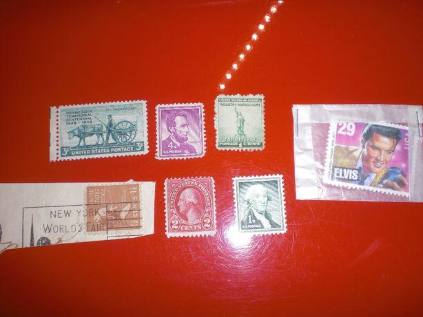 selos antigos USA