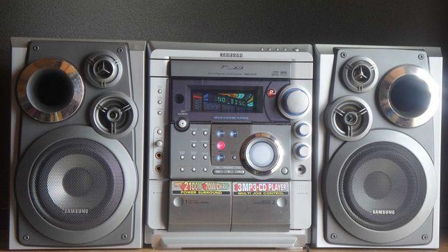 Музыкальный центр samsung max zs720 караоке, MP3, 140 Ватт с колонками