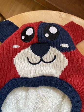 Шапка зимова дитяча шлем шолом зимняя LC waikiki