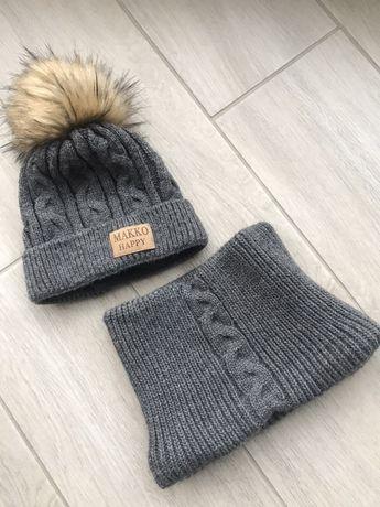 Зимова шапка + хамут