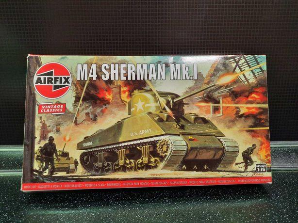 Сборная модель Airfix Танк M4 Sherman Mk.I 1:76