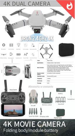 4K Dron 25cm 4K 2kamery 1800mah, 2.4Ghz, walizka, aplikacja 4K 25cm