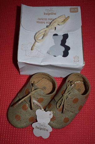 Детская обувь, топики фирмы Lupilu , первые мокасины
