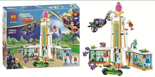 Klocki Super Power Girls 3 zestawy model 10614, 10616, 10618