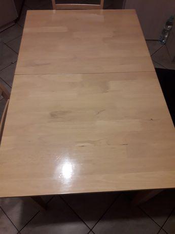 Stół rozkładany plus 4 krzesła
