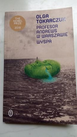 """Książka """"Profesor Anwers w Warszawie"""" Olga Tokarczuk"""
