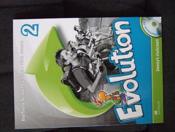 """Ćwiczenia do j.angielskiego """"Evolution 2"""" Macmillan"""