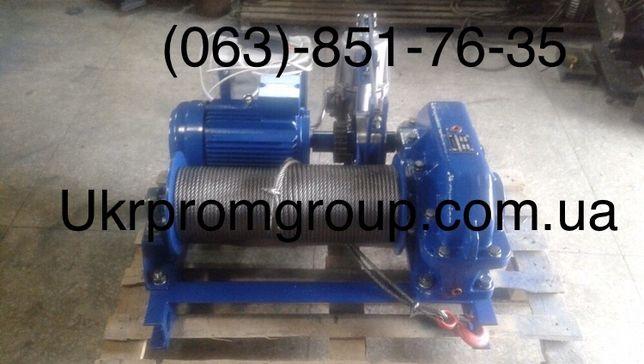 Тяговая монтажная лебедка ЛМ-2 ЛМ-3,2 ЛМ-5 ЛМ-8 ЛМ-10 электрическая