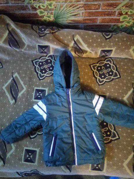 Двухсторонняя демисезонная куртка для мальчика Mayoral