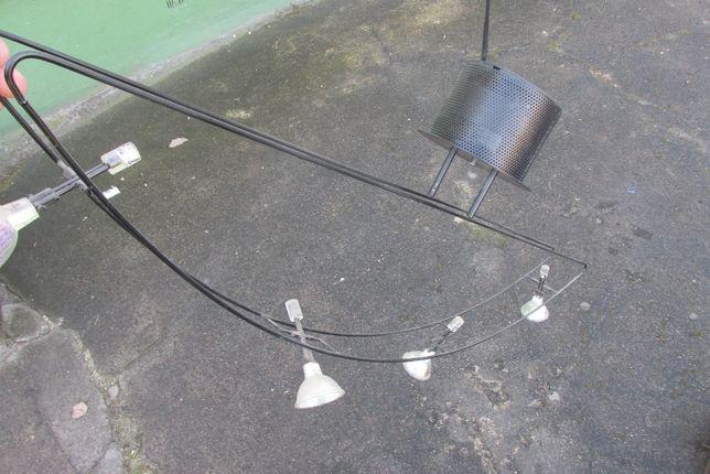 Żyrandol 4 cztery halogeny lampa młodzieżowy moderny