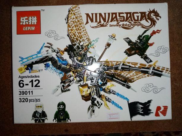 Лего Ninjago. Набор льодяний дракон. Zane NINJASAGA Invincible Ninia