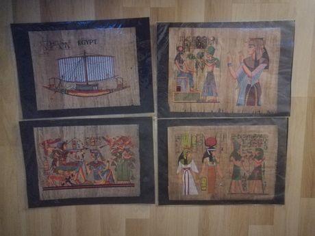 Papirus Egipt 9 szt