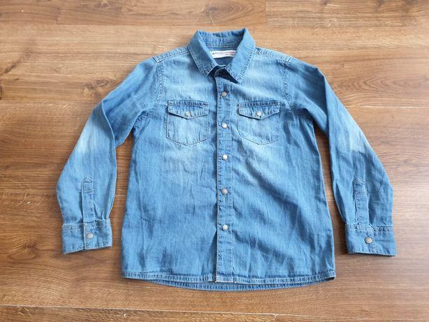 Wysyłka 1 zl. Koszula jeansowa 110/116 MINOTI