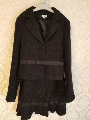 Костюм пиджак + юбка школьный для девочки 12 лет