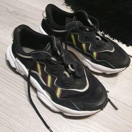 Adidas ozweego 38 23,5 24cm czarne odblaskowe neonowe białe sportowe